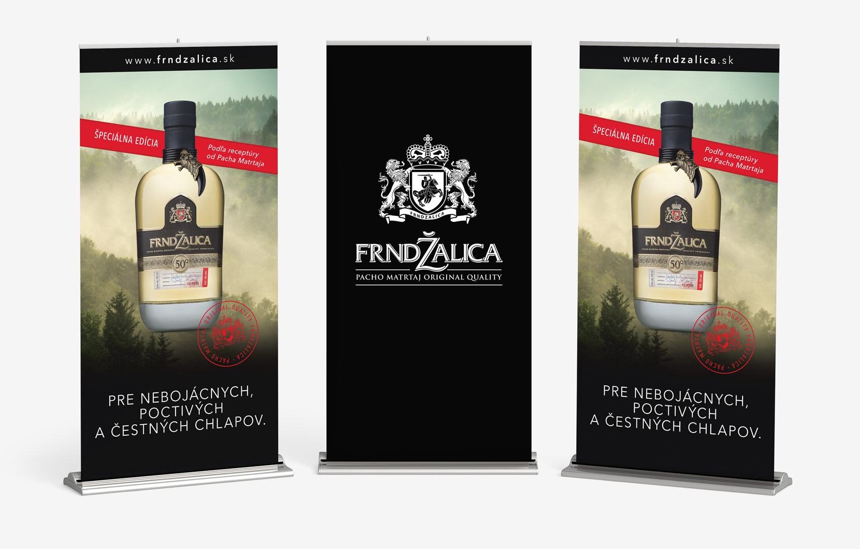 Frndzalica rolling banners | BOLD